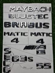 Запчасть эмблема на багажник задняя Mercedes-Benz M-class