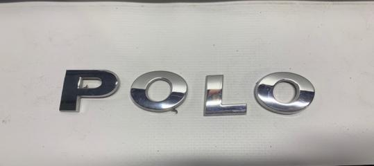 Запчасть эмблема задняя Volkswagen Polo 2019