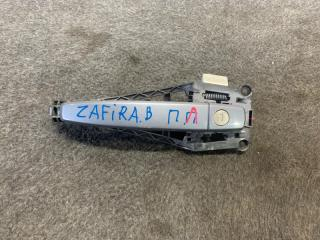 Запчасть ручка двери передняя левая Opel Zafira B