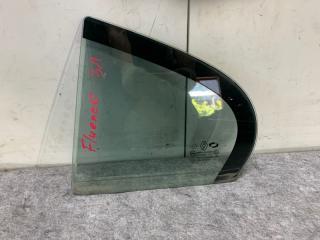 Запчасть форточка двери задняя левая Renault Fluence