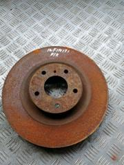 Запчасть тормозной диск передний левый Infiniti M35 2008