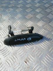 Запчасть ручка двери внешняя задняя правая Renault Logan 2008