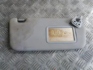 Запчасть козырек солнцезащитный передний правый Kia Rio 2 2007