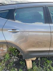 Дверь задняя правая Hyundai Santa Fe 2013-2018 DM G4KE 770042W010 Б/У