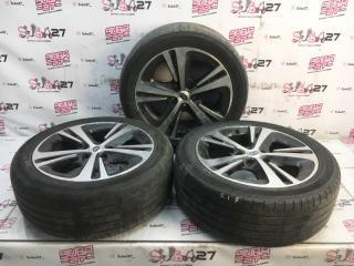 Комплект из 3-х Колесо R17 / 215 / 50 Dunlop SP Sport Maxx 050 5x114.3 лит. +55ET  (б/у)