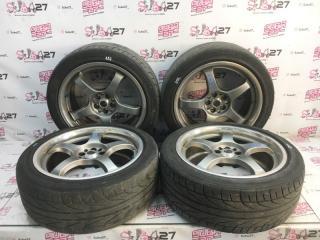 Комплект из 4-х Колесо R18 / 225 / 45 Dunlop Direzza DZ101 5x100 лит. 40ET  (б/у)