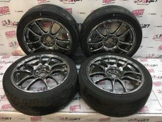 Комплект из 4-х Колесо R18 / 215 / 45 Bridgestone Potenza Re 11 5x100 ков. 48ET  (б/у)