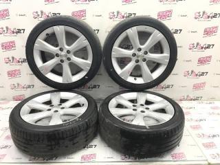 Комплект из 4-х Колесо R17 / 215 / 45 Dunlop Lemans 5 5x100 лит. +55ET  (б/у)