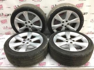 Комплект из 4-х Колесо R17 / 215 / 45 Dunlop Direzza 5x100 лит. +55ET  (б/у)