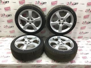 Комплект из 4-х Колесо R17 / 215 / 45 Bridgestone Studless 5x100 лит. +55ET  (б/у)