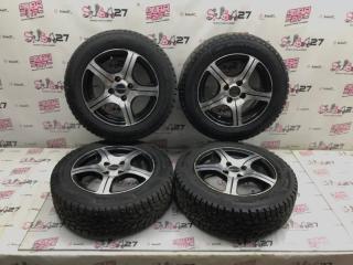 Комплект из 4-х Колесо R14 / 175 / 65 Dunlop SP Winter Ice 02 4x100 лит.  (б/у)