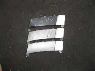 Накладка на бампер задняя MITSUBISHI OUTLANDER 1 2003-2008