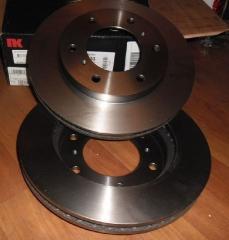 Тормозной диск передний MITSUBISHI PAJERO 3 2000-2006
