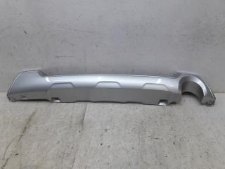 Запчасть накладка бампера задняя Subaru Forester 4 2016-2019