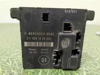 Запчасть блок управления двери задний левый Mercedes-Benz E-Class 2002-2009