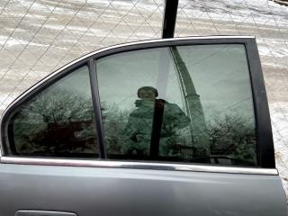 Запчасть стекло заднее левое Mitsubishi Galant 2001