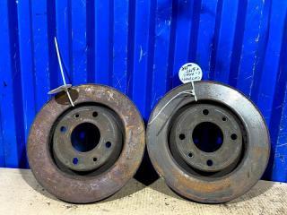 Запчасть диски тормозные комплект передние Citroen C-Elysee 2014