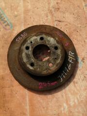 Запчасть тормозной диск передний правый DAIHATSU TERIOS