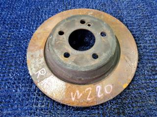 Запчасть тормозной диск задний MERCEDES-BENZ S-CLASS