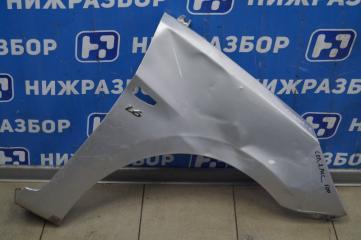 Запчасть крыло переднее правое Hyundai Solaris 1 2010-2017