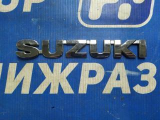 Запчасть значок (эмблема) задний Suzuki Grand Vitara
