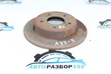 Запчасть диск тормозной задний левый NISSAN Cefiro 1998-2003