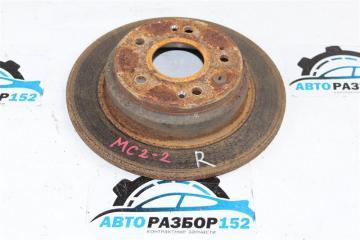 Запчасть тормозной диск задний правый Honda ACCORD 2002-2007