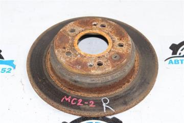 Запчасть тормозной диск задний левый Honda ACCORD 2002-2007