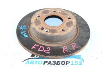 Тормозной диск задний правый Honda Civic 2005-2010