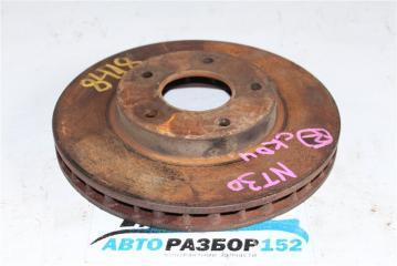 Тормозной диск задний правый NISSAN X-Trail 2002-2007