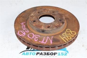 Запчасть тормозной диск передний левый NISSAN X-Trail 2002-2007