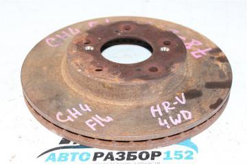Запчасть диск тормозной передний левый Honda HR-V 1998-2003