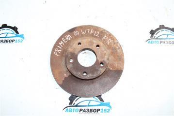 Запчасть диск тормозной передний Nissan Primera 2002-2007