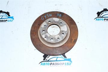 Диск тормозной задний Mazda 6 2008-2012