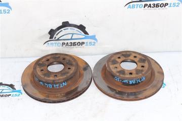 Запчасть диск тормозной задний Nissan X-Trail 2008-2013