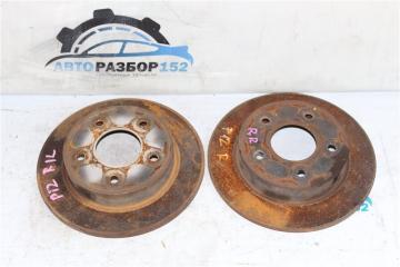 Диск тормозной задний Nissan Primera 2002-2007