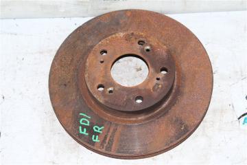 Запчасть тормозной диск передний правый Honda Civic 2005-2010