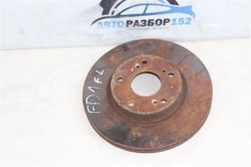 Запчасть диск тормозной передний левый Honda Civic 2005-2010