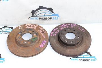 Диск тормозной передний Mazda 6 2008-2012