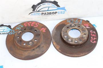 Диск тормозной передний левый Mazda 6 2002-2007