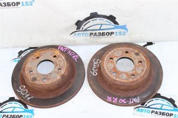 Тормозной диск задний Nissan X-Trail 2002-2007