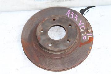 Запчасть тормозной диск передний левый Nissan Cefiro 1998-2003