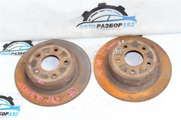 Тормозной диск задний Nissan Teana 2008-2012