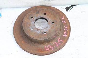 Тормозной диск задний левый Nissan X-Trail 2002-2007