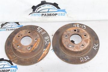 Запчасть диск тормозной задний Nissan Cefiro 1995-2001