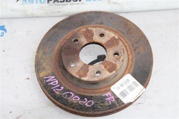 Запчасть диск тормозной передний правый Nissan Primera 2002-2007
