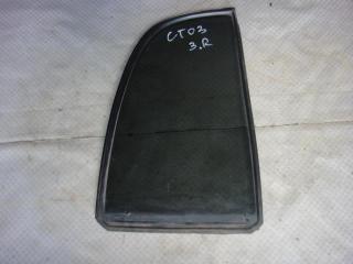 Запчасть стекло двери заднее правое Chevrolet Tracker 2002