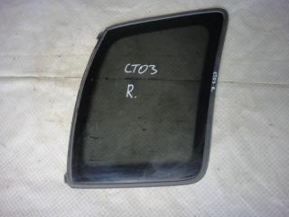 Запчасть стекло кузовное глухое правое Chevrolet Tracker 2002