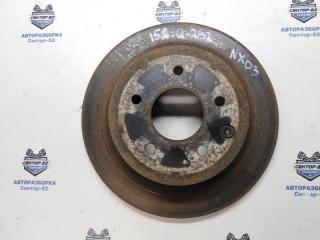 Запчасть диск тормозной задний Nissan X-Trail 2009
