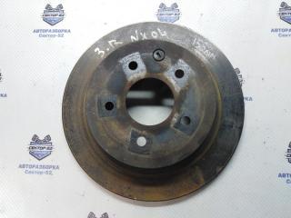 Запчасть диск тормозной задний Nissan X-Trail 2007